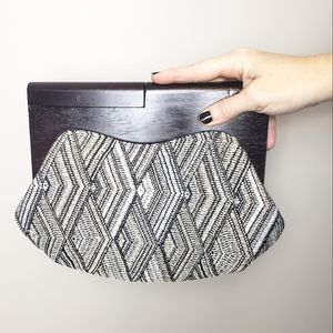 Nordstrom Browns Holly Woven Clutch